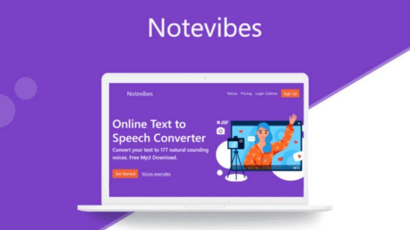 notevibes text to speech converter