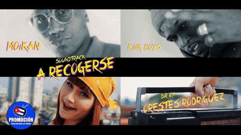 Moikan & Los King Boys - ¨A recogerse¨ - Videoclip - Director: Orestes Rodríguez. Portal Del Vídeo Clip Cubano. Música cubana. Reguetón. Cuba.