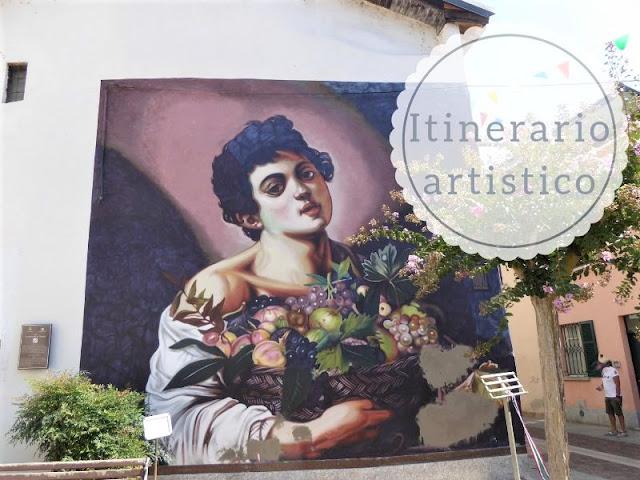 Itinerario artistico per vedere le opere di Andrea Mattoni: Il fanciullo di Angera