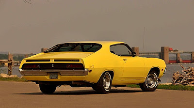1971 Ford Torino Cobra Fastback Rear Right