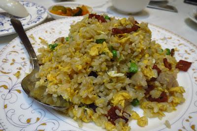 London Fat Duck, duck bak kwa fried rice