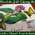 Pro-Life 3-D Coloring Art Project {Teaching Kids about the Beauty of Life}