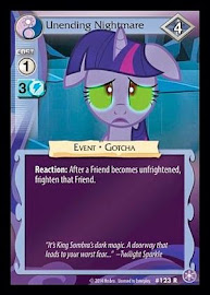 My Little Pony Unending Nightmare The Crystal Games CCG Card