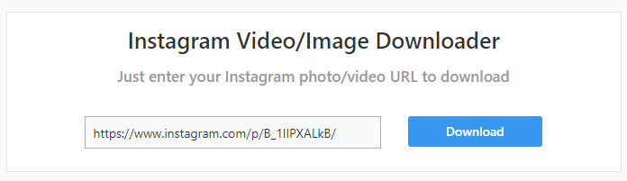 Memasukkan Tautan Postingan Instagram Di Instapick