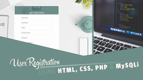 User Signup, Login and Logout System using PHP and MySQLi