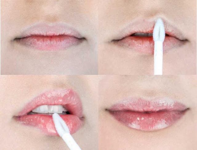 Cosmético labial a base de ácido hialurônico para aumentar os lábios, hidratar e nutrir.