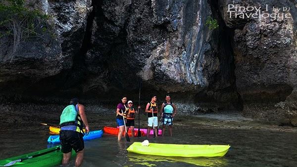Kayaking in Santiago White Beach