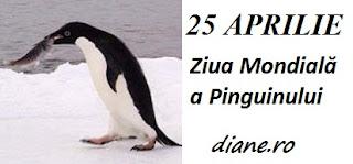 25 aprilie: Ziua Mondială a Pinguinului