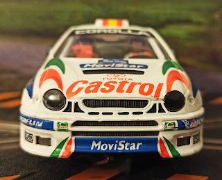 Toyota Corolla WRC Scalextric Tecnitoys
