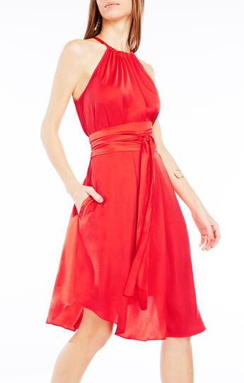 vestidos rojos para fiesta