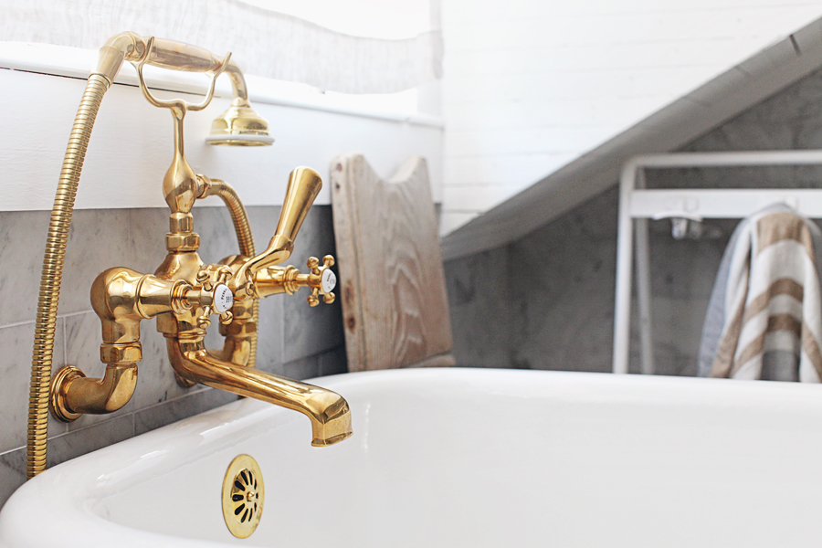 Unlacquered Brass Rohl Faucets, Unlacquered Brass Bathroom Faucet