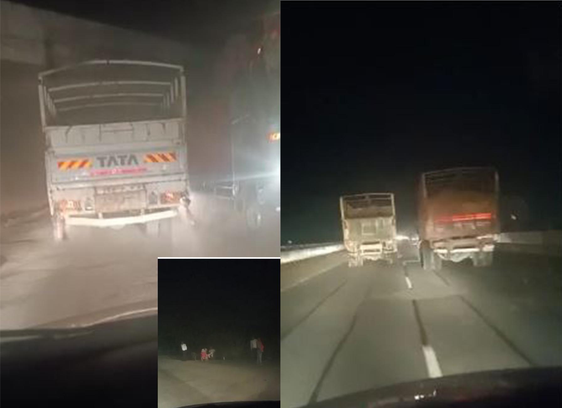 रोक लगने के बाद भी पुलिस की सांठ गांठ से पार हो रहे है बालू लोडेड ट्रक और ट्रैक्टर,देखे वीडियो