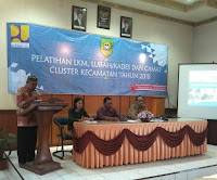 """Pelatihan LKM, Lurah/Kades dan Camat Cluster Kecamatan Tahun 2018"""