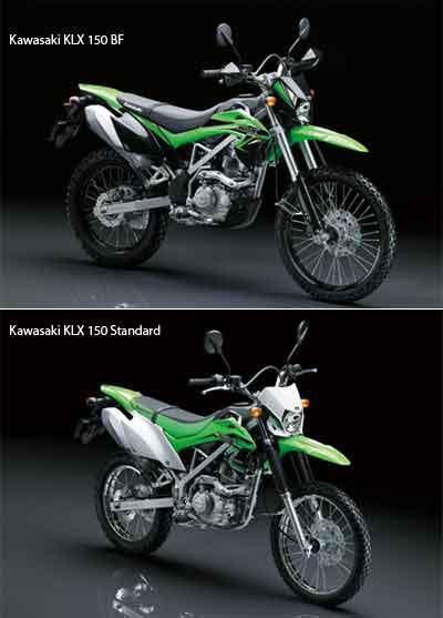 Kawasaki KLX 150 2015: Standar & BF