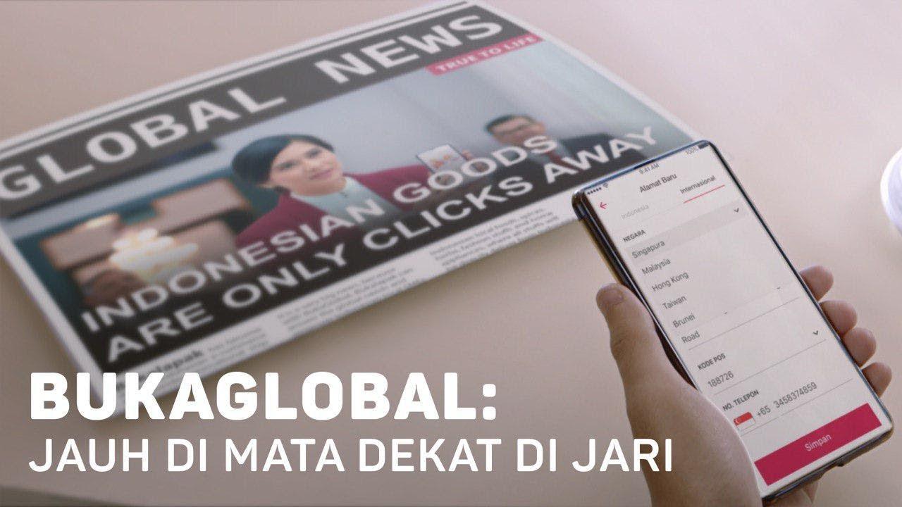 BukaGlobal Memberikan Kesempatan Bagi UKM Indonesia untuk Promosi Ekspor