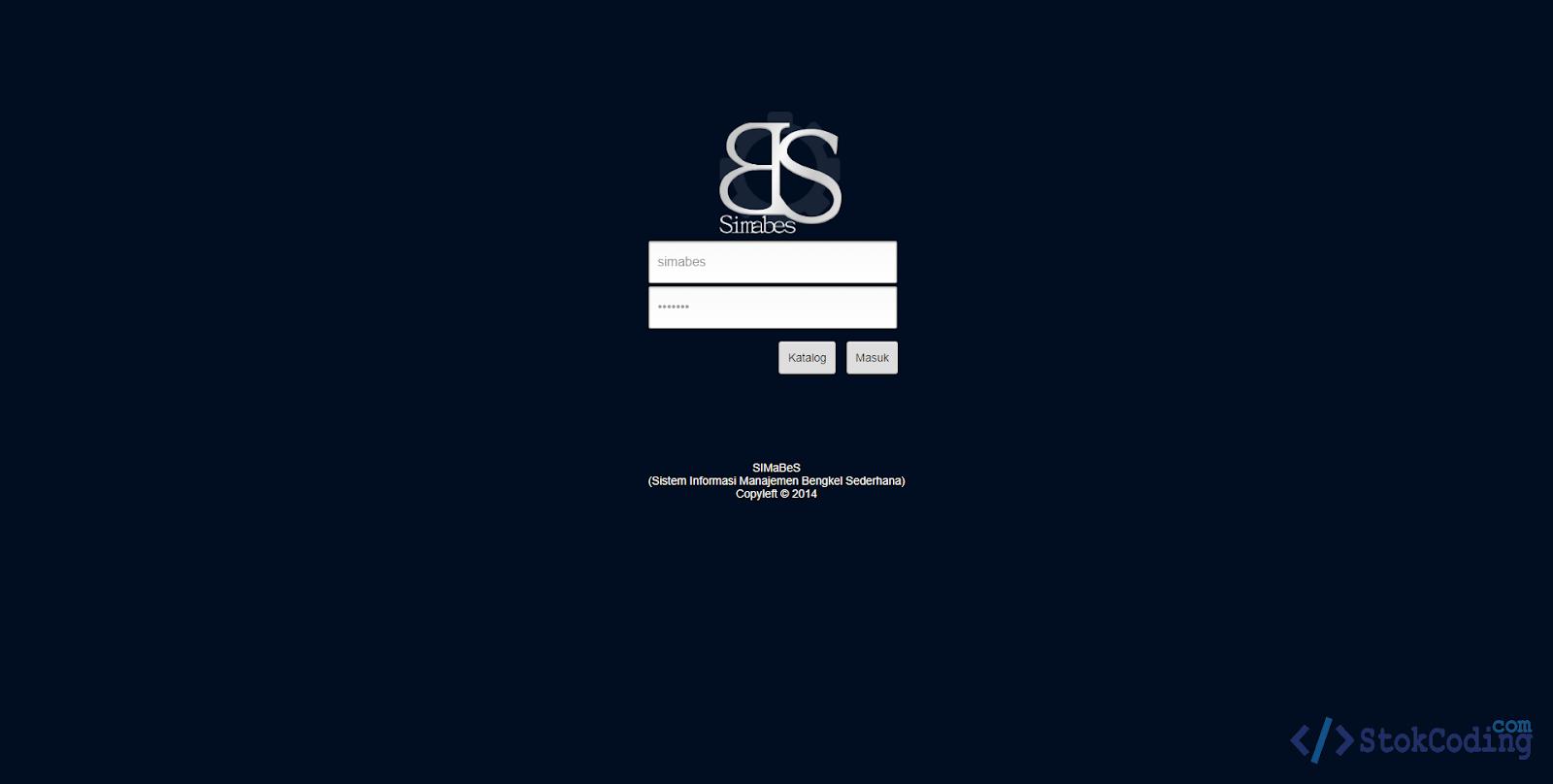 Sistem Informasi Bengkel Berbasis Web (PHP)