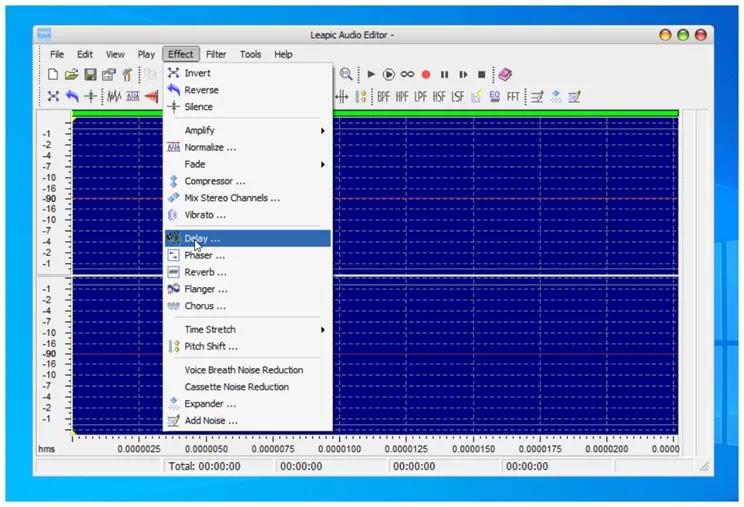 Leapic Audio Editor: Επεξεργαστής ήχου, μετατροπέας, καταγραφέας, player, και διαχωριστής αρχείων