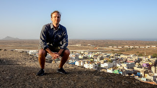 On the mirador in Cape Verde