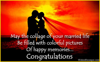 wedding congratulations messages to a friend