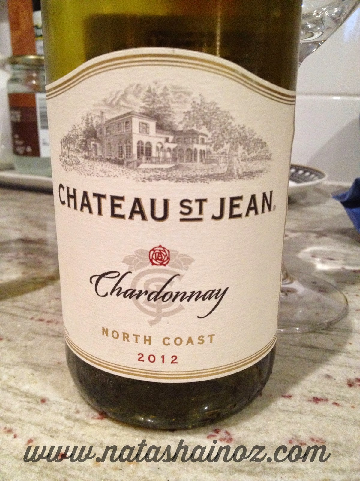 Say G'Day Linky Party, Chateau St Jean Chardonnay