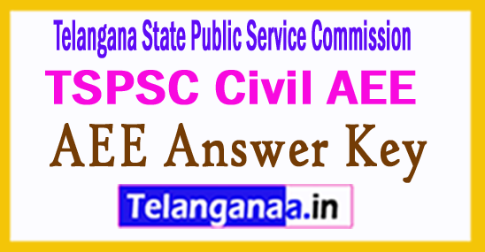 TSPSC Civil AEE Answer Key 2017 Result