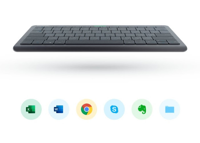 Prestigio Click&Touch touch sensor gesture keyboard
