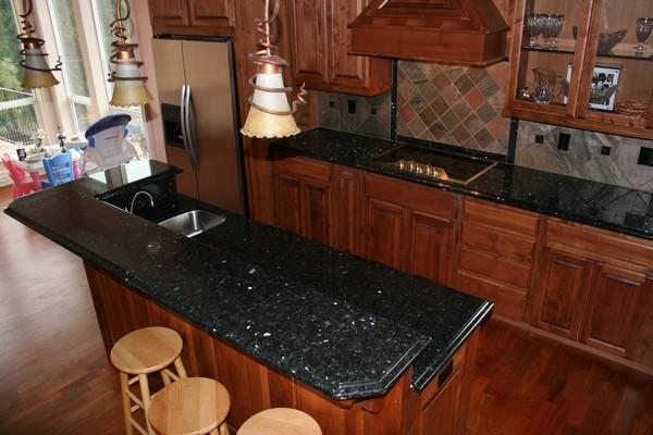 emerald pearl granite kitchen pictures