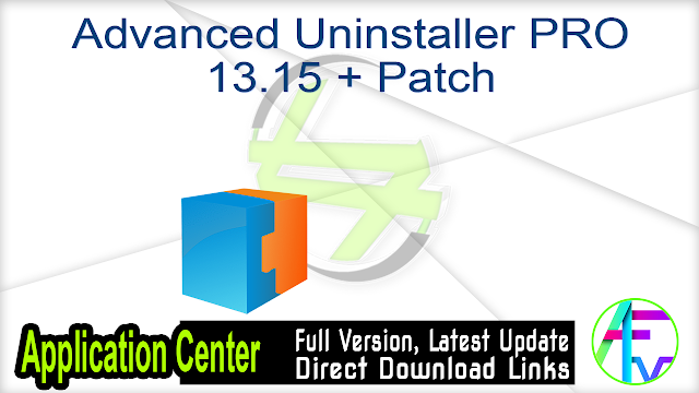 Advanced Uninstaller PRO 13.15 + Patch