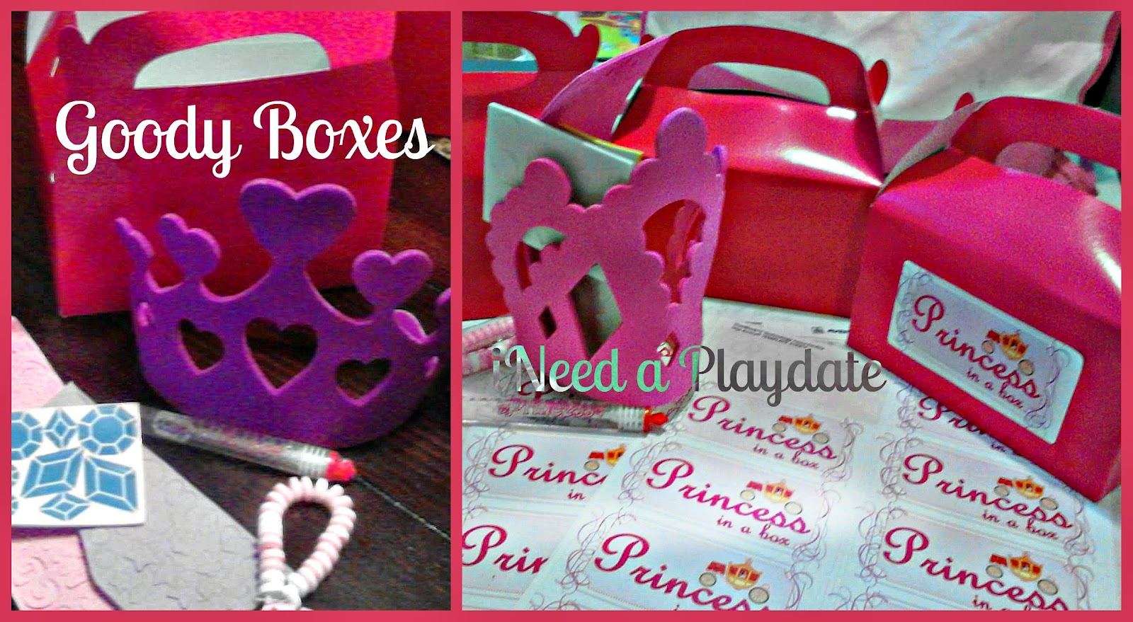 goody box pictures for princess kit