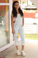 Mishti Chakraborty in lovely Jumpsuit and crop top at Wings Movie Makers Production No 1 movie launch ~  Exclusive 10.JPG