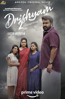 Drishyam 2 2021 India Jeethu Joseph Mohanlal Meena Ansib  Drama, Thriller