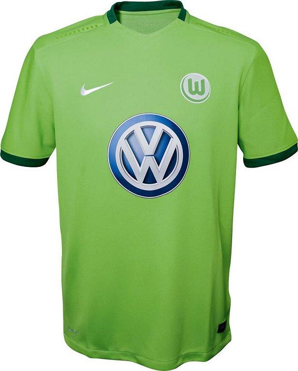 03b5338b39009 Nike divulga as novas camisas do Wolfsburg - Show de Camisas