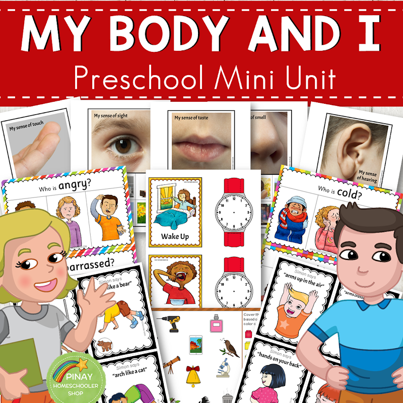 Human Body Preschool Mini Unit