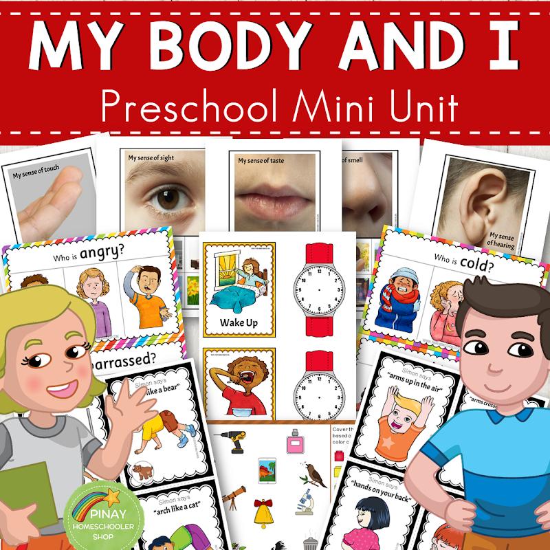 Human Body Preschool Mini Unit