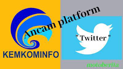 kemkominfo ancam twitter dengan sanksi uu ite