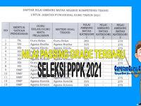 Nilai Ambang Batas Seleksi PPPK Guru Terbaru Berdasarkan Kepmenpan No 1169 Tahun 2021