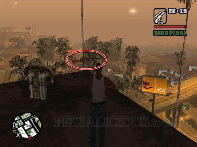 Lokasi Sniper Rfile di Jefferson, Los Santos GTA SA