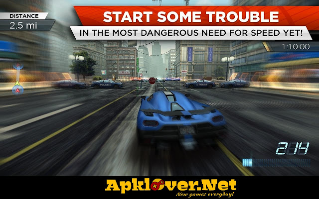 Need for Speed Most Wanted MOD APK unlimited money