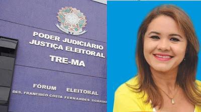 Resultado de imagem para vereadora Chaguinha perde no TRE Ma