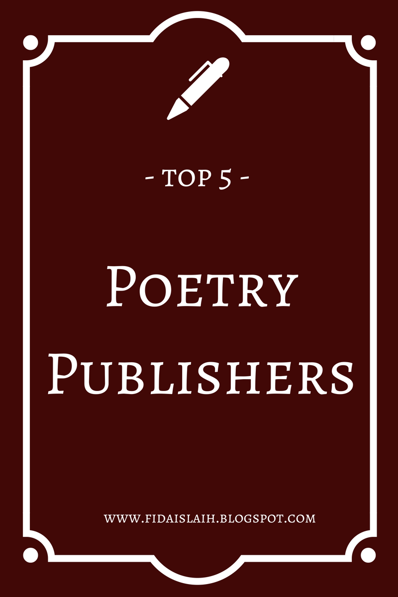 Publisher For Poetry