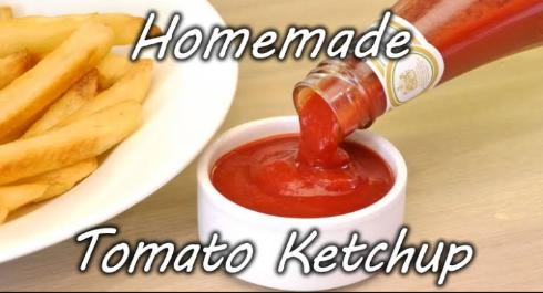 Homemade tomato ketchup recipe and tricks