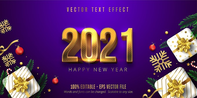 New Year Text Effect Ai