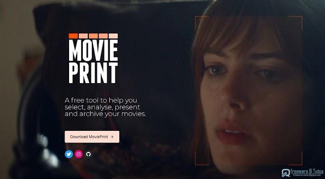 MoviePrint : un logiciel pour créer facilement une planche contact d'une vidéo