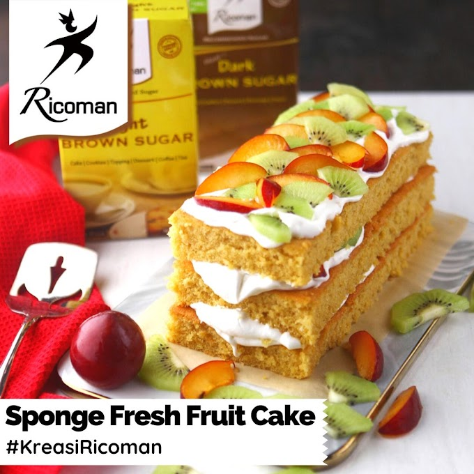 [RESEP] Sponge Fresh Fruit Cake