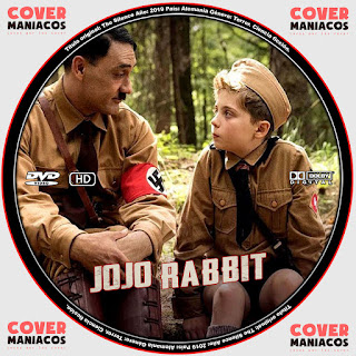 GALLETA JOJO RABBIT 2019[COVER DVD]
