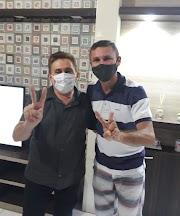 Gabriel da Farmácia será o vice de Zuingles em Conceição do Lago Açu