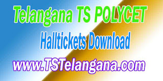 Telangana TS POLYCET 2017 TSPOLYCET Halltickets Download