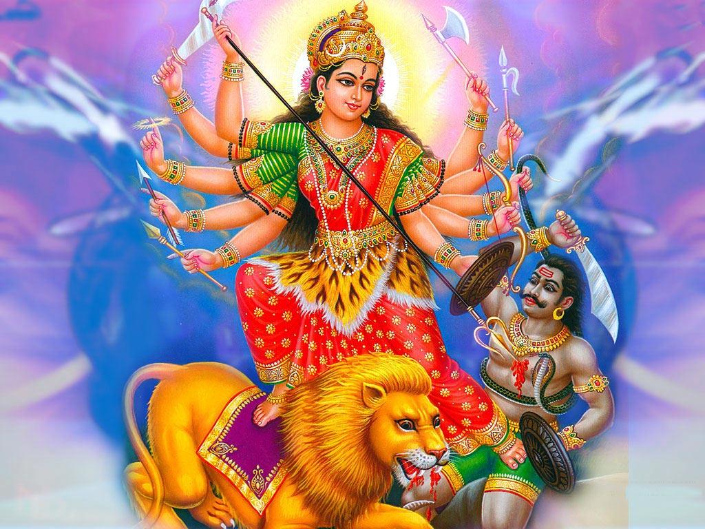Maa Durga Image for Happy Navratri Wallpapers Free Download