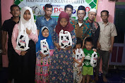 Jelang Idul Fitri, Media Pewarta Tambora Bersama Komunitas Pewarta Berbagi Santunan Untuk Anak Yatim Piatu
