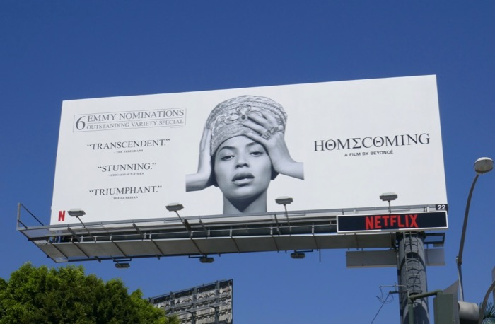 Beyoncé Homecoming 6 Emmy nominations billboard